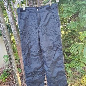 Kids Columbia fleece lined waterproof pants